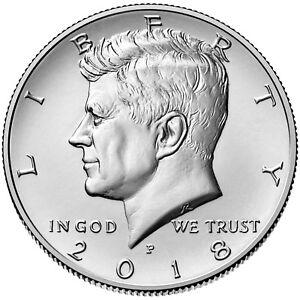 2018-P&D  Kennedy Half-Dollars