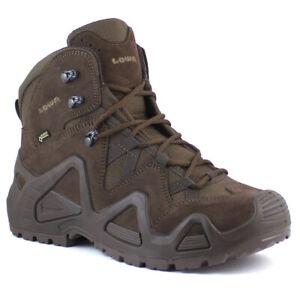Lowa Zephyr GTX Mid TF Men's Military Waterproof Gore-Tex Walking Boots Brown