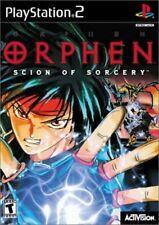 Sony Playstation 2-ORPHEN: Scion de hechicería-A6VG juego el Rápido Gratis Barato