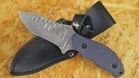 Puma TEC Gürtelmesser Damast-Messer Damastmesser Jagdmesser 71 Lagen 269508
