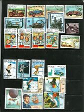 LAOS USED  SELECTION OF STAMPS
