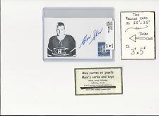 Glen Skov Montreal Canadiens AUTOGRAPH AUTO INDEX HOCKEY CARD 100% COA
