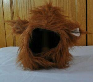 Dog Lion Mane Costume For Medium or Large Dogs Faux Fur Outside Silky Inside EUC