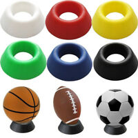 Basketball Football Soccer Rugby Plastic Display Stand Holder For Box Case GTRW