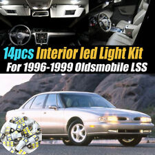14Pc Super White Car Interior LED Light Kit for 1996-1999 Oldsmobile LSS
