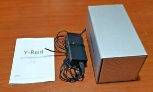 Case per HDD Yottamaster (enclosure) 4 slitte (bay) SATA - USB 3.0 Type C RAID