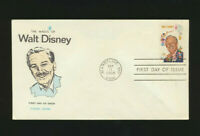Walt Disney Scarce #1355 Fluegel Cachet 1968 First Day Cover Unaddressed