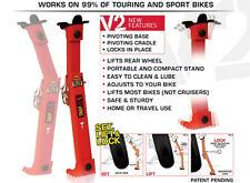 Tirox Motorcycle Snapjack V2 Sport Street Enduro Bike Portable Quick Jack Stand