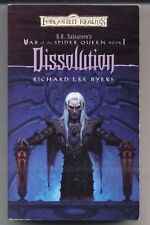 Dissolution Bk. 1 by Richard Lee Byers  2003, Paperback War of the Spider Queen