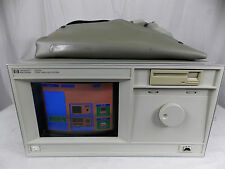 HP 16500A LOGIC ANALYSIS SYSTEM W/ 16550A MODULE, SYSTEM DISK & PODS