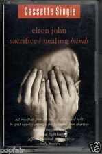 ELTON JOHN - SACRIFICE / HEALING HANDS 1990 CASSINGLE