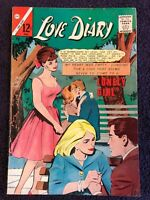 Love Diary #37 (1965 Charlton). Glossy mid-grade with great colors!