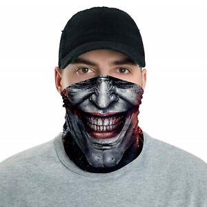 DC Comics The Joker Neck & Face Gaiter PPE  Accessory