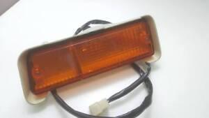1972-1980 Isuzu KB20  KB Chevrolet LUV Front Bumoper Lamp Lights LH Genuine JP