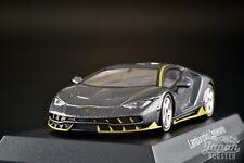 [KYOSHO 1/64] Lamborghini Centenario Gray Minicar Lottery