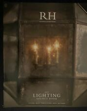 RESTORATION HARDWARE 2014 LIGHTING SOURCE BOOK 258 PAGES CATALOG DESIGNER HOME