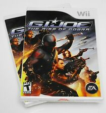 💥 G.I JOE: The Rise of Cobra 🚁 (Nintendo Wii, 2009) CIB NEW SEALED MINT ⭐ RARE