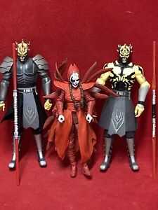 Star Wars Clone Wars...............SAVAGE OPRESS, NIGHTSISTER, SAVAGE ARMORED