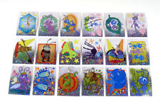 1999 Panini Disney / Pixar A Bug's Life Prismatic Album Sticker Set (18) Nm/Mt