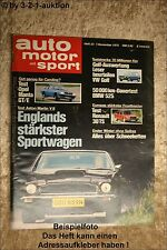 AMS Auto Motor Sport 23/75 Opel Manta GTE Opel Kadett Irmscher R30 TS