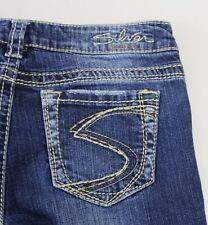 """Women's SILVER Jeans FRANCES 18""""  Boot Cut Jeans Size 26 x 33"""