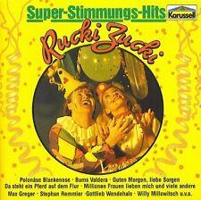 Super-Stimmungs-Hits Rucki-Zucki Max Greger, Kirmes-Karusell, Gottlieb We.. [CD]