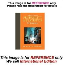 Miller and Freund's Probability and Statistics for Engineers, 9th edition (ISE)
