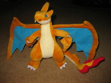 Pokemon Center Mega Charizard Y Soft Plush Toy 10 inch Stuffed Animal Doll Rare