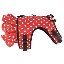 New Disney Parks Tails Minnie Mouse Costume/Comfort Harness for Dog Size Medium