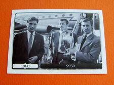 514 EQUIPE TEAM 1960 CCCP URSS COUPE  FOOTBALL PANINI UEFA EURO 2012