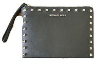 NEW - MICHAEL KORS - JET SET TRAVEL XL ZIP CLUTCH WRISTLET, Black, Free Postage!