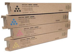 Genuine Ricoh Savin Lanier Toner SET IMC3500 C3000  842251 842252 842253 842254