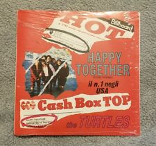 The Turtles Happy Together Edizone 45 Record Cash Box Top SEALED