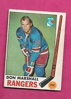 1969-70 OPC # 39 RANGERS DON MARSHALL GOOD CARD (INV# C5904)