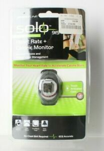 New Sportline Womens Solo 915 Heart Rate Calorie Monitor Fitness Weight Loss