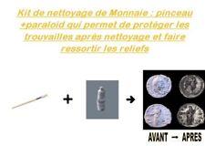 Kit De Nettoyage Monnaie : Pinceau+Paraloid B72