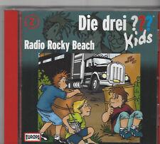 DIE DREI FRAGEZEICHEN ??? KIDS - CD Folge 2 Radio Rocky Beach