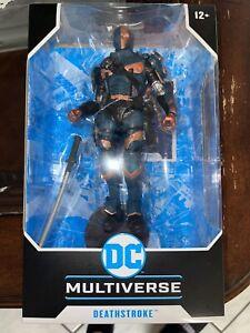 "McFarlane Toys DC Multiverse Deathstroke: Batman: Arkham Origins 7"" 🔥"