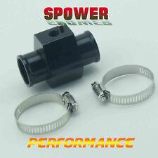 36MM Black Water Temperature Joint Pipe Temp Sensor Gauge Radiator Hose Adapter