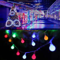 10M/20M 100/200 LED Fairy String Lights Berry Ball Lamp Wedding Xmas Tree Party