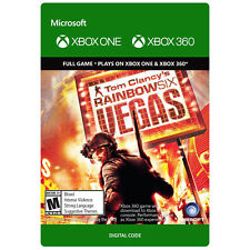 Rainbow Six Vegas  Xbox 360 or Xbox One Download Card DLC