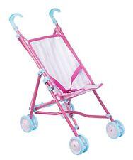 Dolls Buggy Single Stroller Folding Pram Dream Creations Pushchair Baby Doll Toy