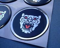 4x Pantera Embleme für Nabenkappen Felgendeckel 59mm Silikon Aufkleber P59VSHR