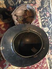 Vintage Cairns black fire helmet
