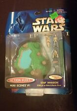 New 1998 Star Wars Episode 1 Action Fleet Mini Scenes #1 Stap Invasion Galoob