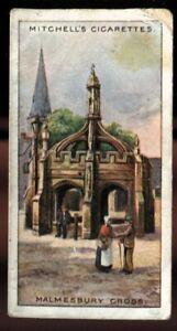 Tobacco Card, Mitchell, FAMOUS CROSSES, 1923, Malmesbury Cross, #3