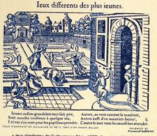 JEUX D ENFANTS  FRANCE Document Philatélique Officiel  2189