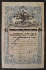 Portugal - C. C. Ferro de Penafiel á Lixa e a Entre os Rios, 1915 - *VERY RARE*