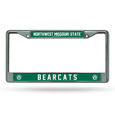 Northwest Missouri State Bearcats NCAA Chrome Metal License Plate Frame
