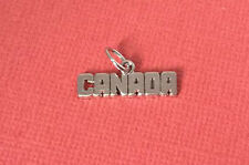 Canada Sterling Silver Charm New in Box